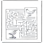 Lavori manuali - Labirinto degli uccelli
