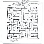 Lavori manuali - Labirinto dei dalmati