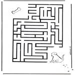 Lavori manuali - Labirinto del cane