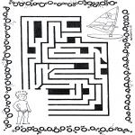 Lavori manuali - Labirinto del surfista
