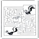 Lavori manuali - Labirinto della moffetta