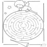 Lavori manuali - Labirinto dellangelo
