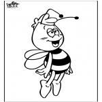 Disegni da colorare Vari temi - L'ape Maia 4