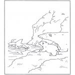 Disegni per i piccini - Lars lorsetto bianco 10