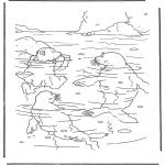 Disegni per i piccini - Lars lorsetto bianco 2
