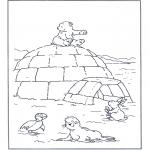 Disegni per i piccini - Lars lorsetto bianco 4