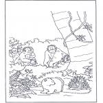 Disegni per i piccini - Lars lorsetto bianco 8