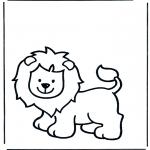 Disegni da colorare Animali - Leone 1
