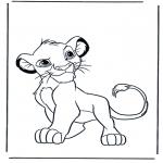 Disegni da colorare Animali - Leoni 4