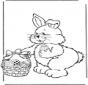 Lepre di Pasqua con le uova 2