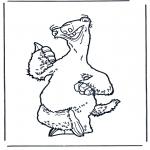 Personaggi di fumetti - Lera glaciale 5