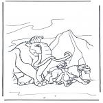 Personaggi di fumetti - Lera glaciale 9