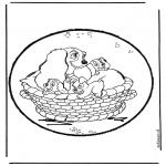 Disegni da bucherellare - Lilli e il vagabondo