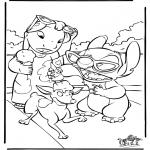 Personaggi di fumetti - Lilo e Stitch 4