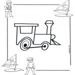 Disegni da colorare Vari temi - Locomotiva 1