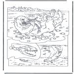 Disegni da colorare Animali - Lontra