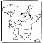Disegni per i piccini - LOrso Paddington 3