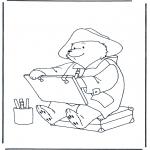 Disegni per i piccini - LOrso Paddington
