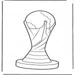 Disegni da colorare Vari temi - Magliette calcio 2
