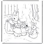 Disegni da colorare Vari temi - Mamma Coniglio 2
