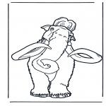 Disegni da colorare Animali - Mammut