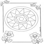 Disegni da colorare Mandala - Mandala 10