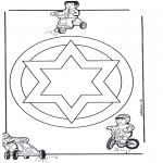 Disegni da colorare Mandala - Mandala 13
