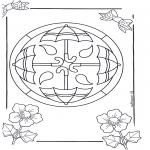 Disegni da colorare Mandala - Mandala 14