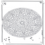 Disegni da colorare Mandala - Mandala 18