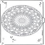 Disegni da colorare Mandala - Mandala 20
