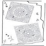 Disegni da colorare Mandala - Mandala 24