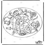 Disegni da colorare Mandala - Mandala 26