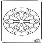 Disegni da colorare Mandala - Mandala 35