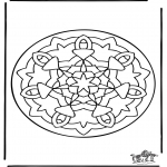 Disegni da colorare Mandala - Mandala 36