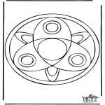 Disegni da colorare Mandala - Mandala 37