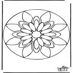 Disegni da colorare Mandala - Mandala 38