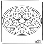 Disegni da colorare Mandala - Mandala 39