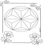 Disegni da colorare Mandala - Mandala 6