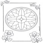Disegni da colorare Mandala - Mandala 7