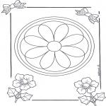Disegni da colorare Mandala - Mandala 8