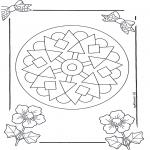 Disegni da colorare Mandala - Mandala 9