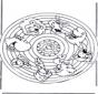 Mandala - animali 2