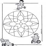 Disegni da colorare Mandala - Mandala bambini 10