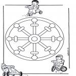 Disegni da colorare Mandala - Mandala bambini 11