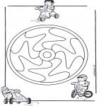 Disegni da colorare Mandala - Mandala bambini 12