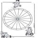 Disegni da colorare Mandala - Mandala bambini 13