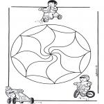 Disegni da colorare Mandala - Mandala bambini 14