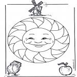 Disegni da colorare Mandala - Mandala bambini 15