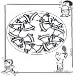 Disegni da colorare Mandala - Mandala bambini 17