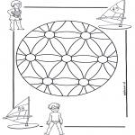 Disegni da colorare Mandala - Mandala bambini 2